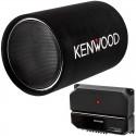 "Kenwood P-W131TB 12"" Tube Subwoofer System with Kenwood KAC-5207 Amplifier"