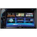 """DISCONTINUED - Clarion NX602 6.2"""" Double-DIN In-Dash Navigation Multimedia Station with DVD Player"""