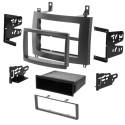 Metra 99-2006G Single or Double DIN Car Stereo Dash Kit for 2003 - 2007 Cadillac CTS and 2004 - 2006 Cadillac SRX - Grey finish