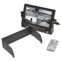 Boyo VTM7012MQ 7 Inch LCD Quad Monitor with removable sun shade and triggered inputs
