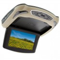Quality Mobile Video CVUA-C92-N1 9 Inch Roof-Mounted Car DVD and Media Player (Interchangeable Tan / Black Cover)
