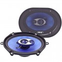 Pyle PL573BL Blue Label 5x7 and 6x8 Inch 300 Watt 3 Way Triaxial Speaker System