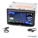 "DISCONTINUED - Pioneer AVIC-7000NEX 7"" WVGA Double DIN with Bluetooth, HD Radio, SiriusXM Ready, Traffic Tuner, Dual USB Inputs, HDMI AV Input, and MirrorLink Ready"