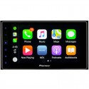 Pioneer MVH-1400NEX Double DIN 6.2 inch In Dash Car Stereo Digital Multimedia Receiver with Capacitive Touch, Apple CarPlay and SiriusXM ready