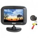 "DISCONTINUED - Pyle PLCM35 3.5"" TFT LCD Monitor with night vision back up camera kit"