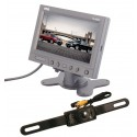 "Quality Mobile Video License Plate Back Up Camera System with 5.8"" Monitor ZH58P3-SC0301"