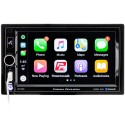 "Power Acoustik CP-650 Double DIN Digital Media Receiver with 6.5"" Capacitive Touchscreen Display and Apple Carplay"