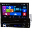 "Power Acoustik PD-724B 7"" Single DIN Car Stereo Receiver w/ Flip Up Monitor"