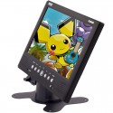 Pyle PLMN9SD 9 inch Universal LCD Monitor with USB Jack, SD Card Port, Built In Speakers, Pedestal Stand and AV Input