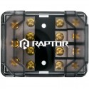 Raptor R54MANL 4-Position MANL Fuse Power Distribution Block