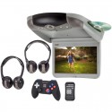 """Discontinued - Rosen CS1020G 10"""" Overhead Flip Down Monitor with DVD player, HDMI and USB"""