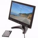 Safesight LCDP10WSD 10 Inch LCD Monitor with USD / SD card inputs and RCA video inputs - Media player