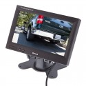 "SafeSight SC7103 7"" headrest monitor with mounting stand"