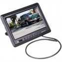 """SafeSight TOP-7001 7"""" Headrest Monitor with Mounting Stand"""