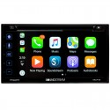 "DISCONTINUED - Soundstream VRCP65 Double DIN DVD Receiver with 6.2"" Touchscreen Display and Apple Carplay"