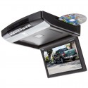 DISCONTINUED - Tview T1023DVFD 10.2 Inch Overhead DVD player with USB/SD card reader and LED dome lights