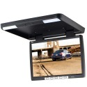 Tview T156IR 15.4 Inch Roof Mount Flip Down LCD Monitor - Black