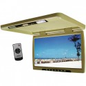 DISCONTINUED - Tview T176IRTN 17 inch overhead flip down monitor - Tan