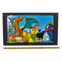 Tview TRP170 Universal 17 inch Metal Housed Raw LCD Monitor Module with RCA and VGA Video Inputs