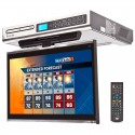 Discontinued - Venturer KLV3915 Under Cabinet 15.4 inch Drop Down Kitchen TV with Built-In DVD Player