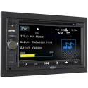 "Jensen VM9126 Double Din 6.2"" Touch Screen DVD, MP3, iPod, USB Receiver"
