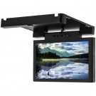 "Accelevision LCDBFD12W 12"" Overhead Flip Down Roof Mount Monitor for Commercial Vehicles - Main"