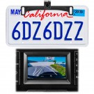 Audiovox ACA801 License Plate Mounted Backup Camera with Auto Trajectory Lines - Main