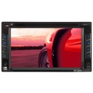 "Dual XDVD1262 6.2"" Double-Din In-Dash Touchscreen DVD Receiver with USB/SD inputs and iPod control"