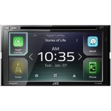 "JVC KW-V840BT 6.8"" Double DIN Car Stereo receiver with Android Auto and Apple Car Play"
