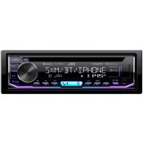JVC KD-TD90BTS Single DIN Bluetooth CD Receiver with USB and SiriusXM Ready