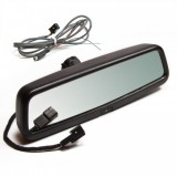 "Slimline Factory Auto Dimming Mirror with 3.5"" Color Display 9002-9608"