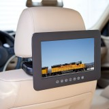 Quality Mobile Video DVD9000L DVD Headrest - Front left installed