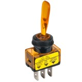Accele 178AMB Toggle Switch with Amber LED indicator - Main