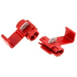 Red Scotchlok Wire connector and tap for 18 - 22 gauge wire