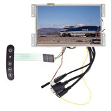 """Accelevision LCD7WVGATSHBLS 7"""" LCD monitor with VGA - Front of display"""