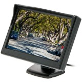 Front right of monitor