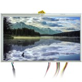 """Quality Mobile Video LCD7WVGACTS 7"""" Raw LCD monitor with VGA input, RCA video input and USB Touchscreen"""