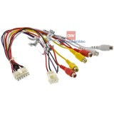 Audiovox 112-5216 12-Pin Main Power Harness with RCA in and out for AVX model overhead DVD players