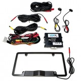 Audiovox ACABSDLP License Plate Blind Spot Sensor Detection System with LED indicators