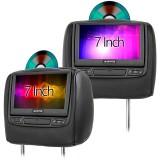 Audiovox HR7012 7 inch DVD Headrests for 2014 - 2019 GMC Sierra 3500 - Main