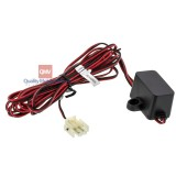 Audiovox 112-4129 2-Wire Main Power Harness with choke for AVX model overhead DVD players