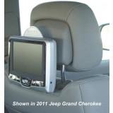 2010 - 2011 Dodge Caravan Rosen AV7700 Seat back mounted DVD system for Active Headrests
