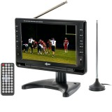 "Axess TV1703-9 9"" Rechargeable Portable TV - Main"