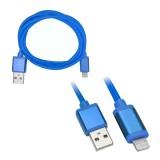 xxess AX-LTNG-BL 3 foot USB to Apple Lightning Cable - Blue