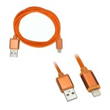 Axxess AX-LTNG-OR 3 foot USB to Apple Lightning Cable - Orange