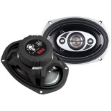 "Boss Audio P69.4C Phantom Series Speakers with Electroplate Injection Cone 6"" x 9"""