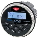 Boss Audio MGR350B Marine-Gauge Mechless In-Dash AM/FM Receiver with Bluetooth