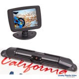 Boyo VTC431RB Wireless backup camera system - Detail of camera and monitor
