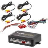 CrimeStopper VSMC-1000 4-Source Video Input Switcher - Main