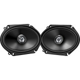 "JVC 6x8"" 2-Way 300W Coaxial Speakers"